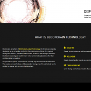 Blockhain website example