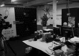 Studio diip team interview camera