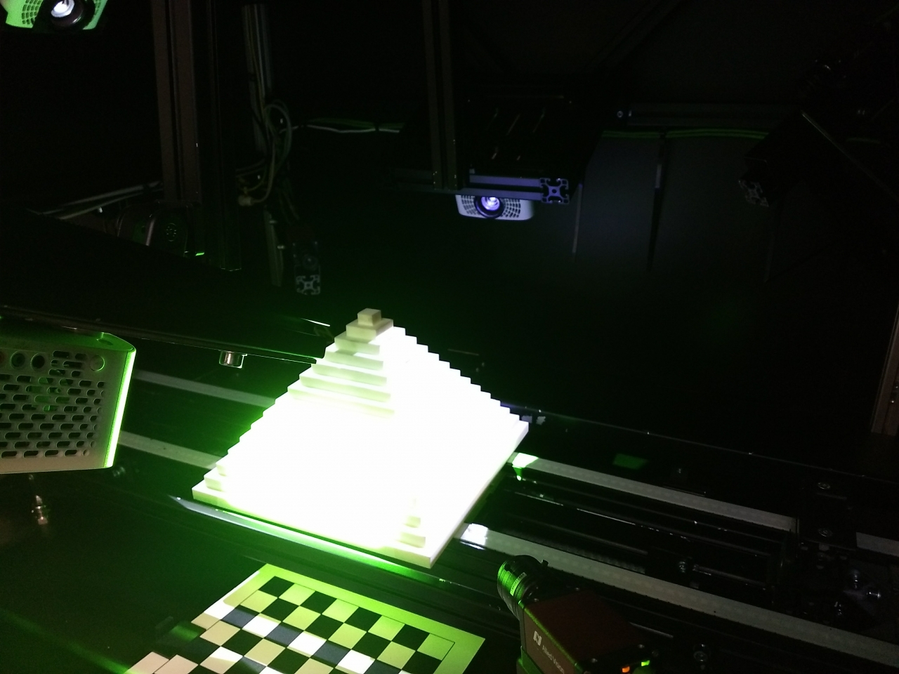 3D scanner interior