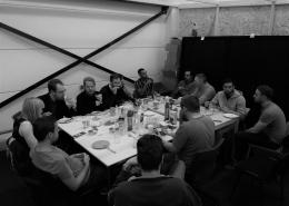 Studio diip team lunch