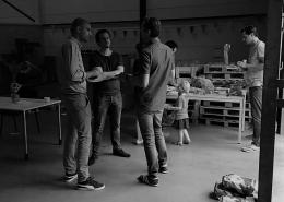 Studio diip team party