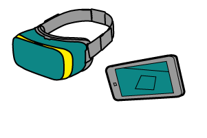 Ar and VR Icons for apps